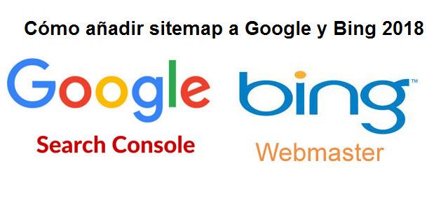 como añadir sitemap google 2018